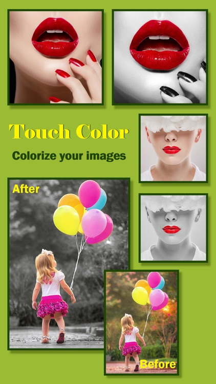 Touch Recolor Effects Pro - Change Image Color, Splash Black & White to Camera Photos