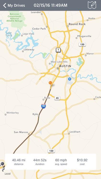 AutoDrive — Drive Tracking