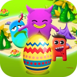 Protect Eggs Defense:Defend with Plants and Cute Monsters Combat