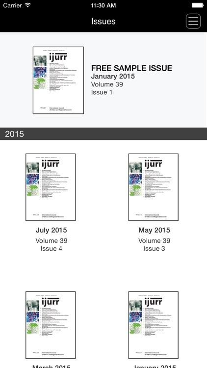 International Journal of Urban and Regional Research screenshot-4