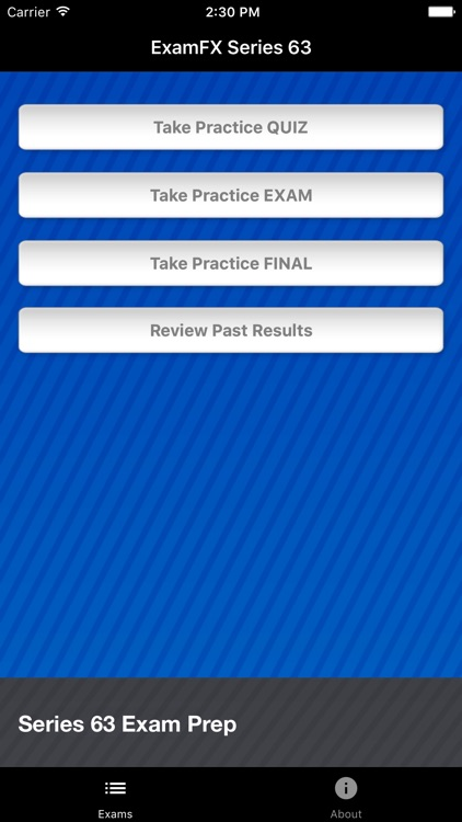 ExamFX Series 63 Exam Prep