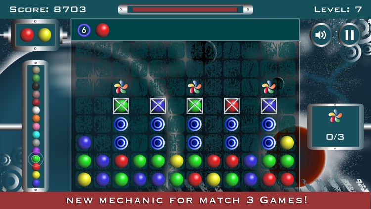 Crash Balls: Match 3 Mania screenshot-0