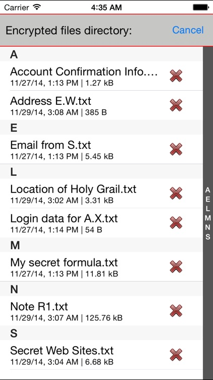 Paranoia Text Encryption (Encrypt Messages, Notes)