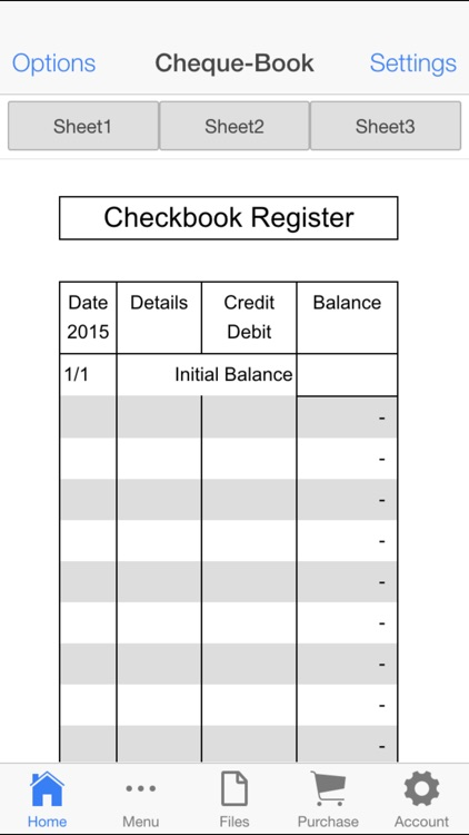 check book register by aspiring investments corp
