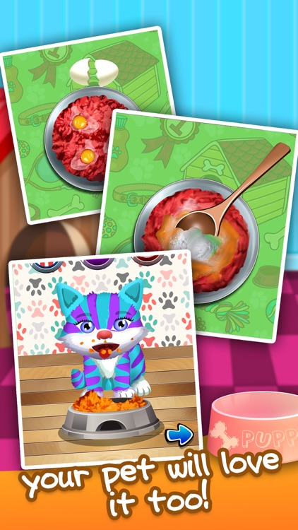 Food Maker for Little Pets - fun cake cooking & making candy games for girls 2!