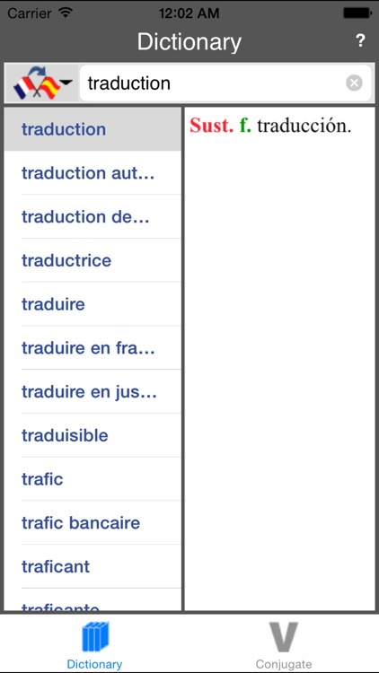 Spanish Dictionary (Offline) screenshot-4