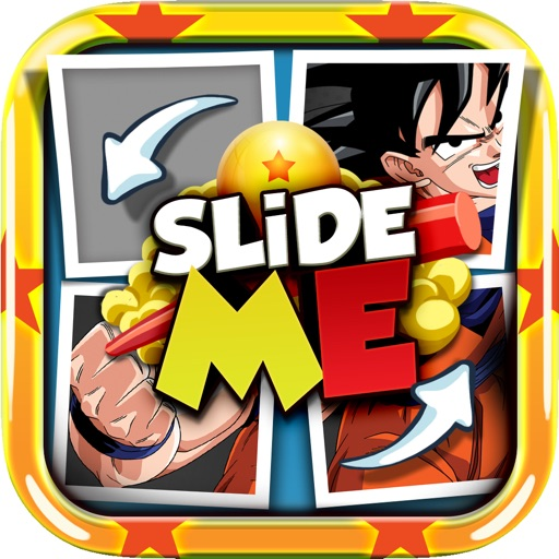 Slide Me Puzzle : Dragon Ball Tiles Quiz Picture DBZ Games | iPhone