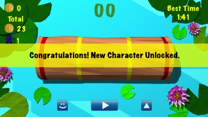 Froggy Log - Endless Arcade Log Rolling Simulator and Lumberjack Game Stay Dry and Dont Fall In The Water!-2
