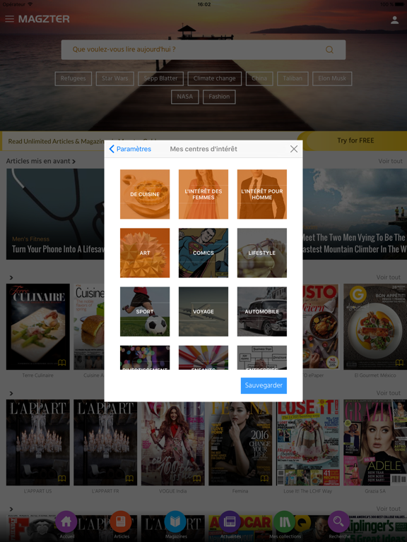 Screenshot #6 pour Magzter - 9,500+ Magazines