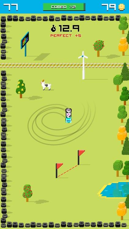 Rally Racing Drift - 8 bit Endless Arcade Challenge screenshot-3