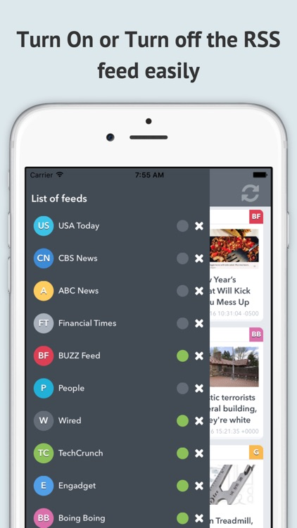 RSS News Reader-Free