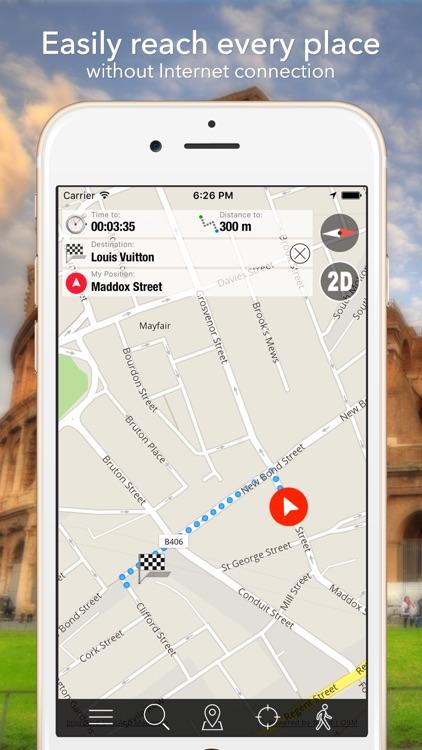 Iraq Offline Map Navigator and Guide screenshot-3