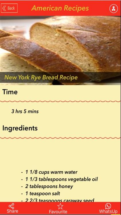 2000+ All American Recipes screenshot-4