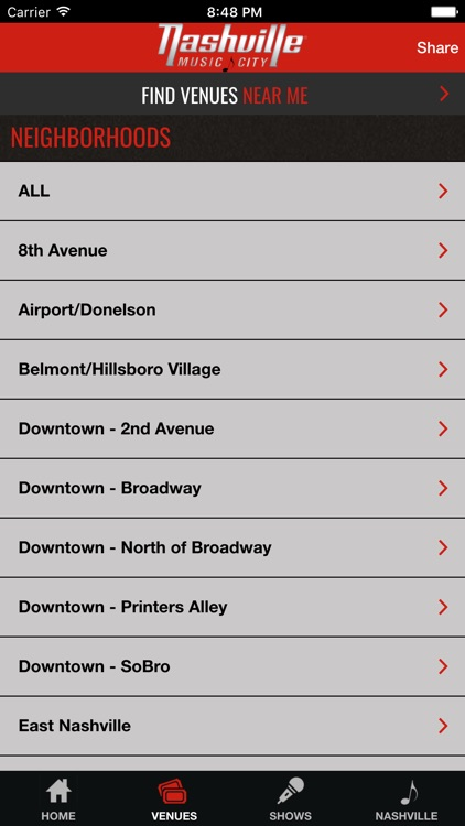 Nashville Live Music Guide screenshot-4