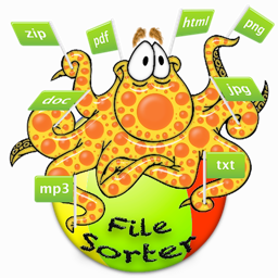 Ícone do app File-Sorter: Sort, Organize and Copy thousands of files with a single click