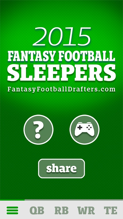 Fantasy Football Sleepers 2015