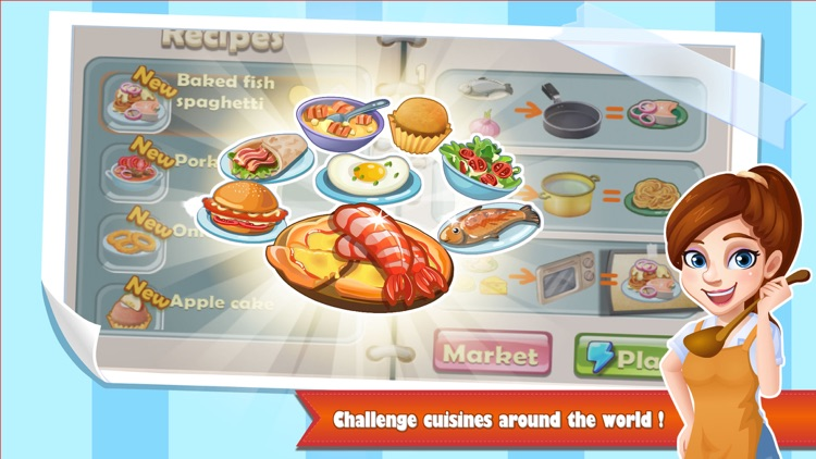 Rising Super Chef - Cooking Game