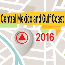 Central Mexico and Gulf Coast Offline Map Navigator and Guide