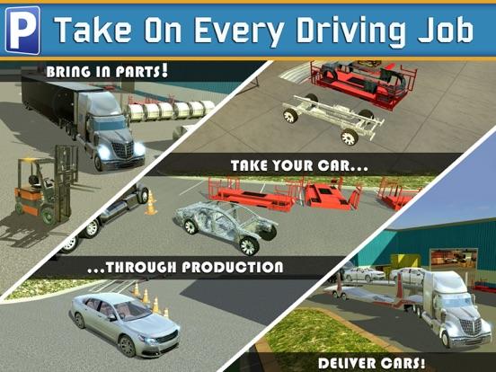 Car Factory Parking Simulator АвтомобильГонки ИгрыБесплатно для iPad