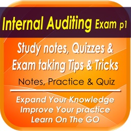 Internal Audit Exam Part1: 300 Study Notes, Quiz & Exam Tips & Tricks
