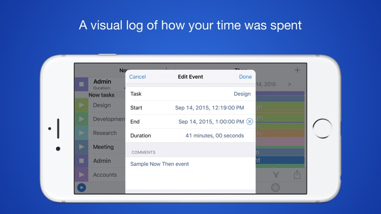 Now Then Free - Time Tracking and Timesheet Management screenshot-3