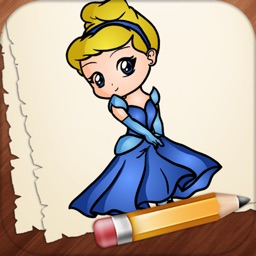 Learn How to Draw Cinderella Characters Edition