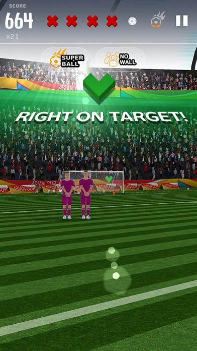 フリーキックアジアカップ2016のスクリーンショット2