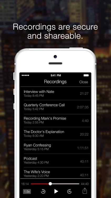 TapeACall Pro - Call Recorder For Phone Calls screenshot-3
