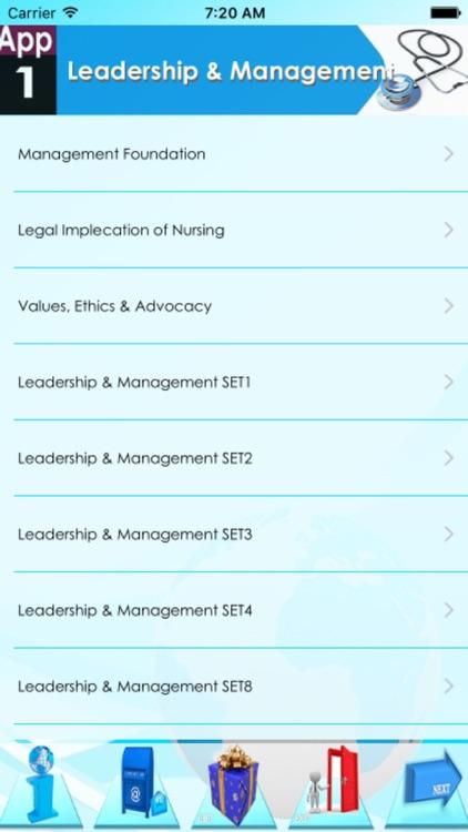NCLEX Nursing Leadership & Management 1200 Notes & Quiz screenshot-4