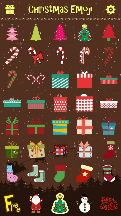 Merry Christmas Emoji Pro - Holiday Emoticon Stickers & Emojis Icons for Message Greeting screenshot-4