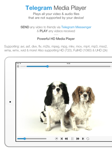 Telegram Media Player - Video & Movie Player for Telegram