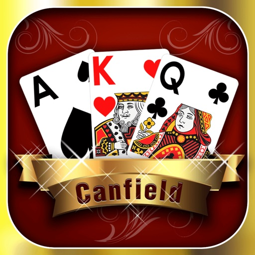Canfield Solitaire App - Go Snap Cards Up Now iOS App