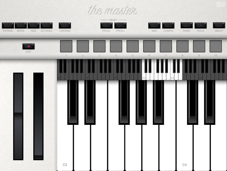 The Master MIDI Keyboard screenshot-2