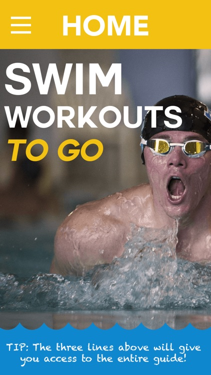 Swim Workouts To Go - Personal Swimming Coach