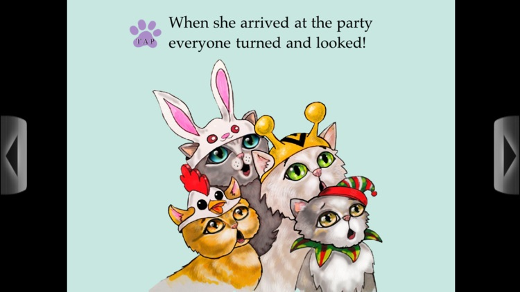 Cat Hat Party - Animated Book App for Children screenshot-4