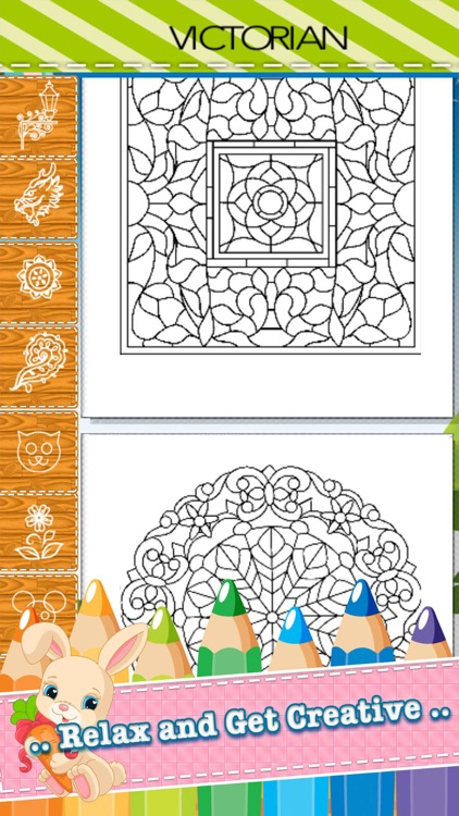 Adult Coloring Book Mandala - Free Fun Games for Stress Bringing Relax Curative Relieving Color Therapy screenshot-3