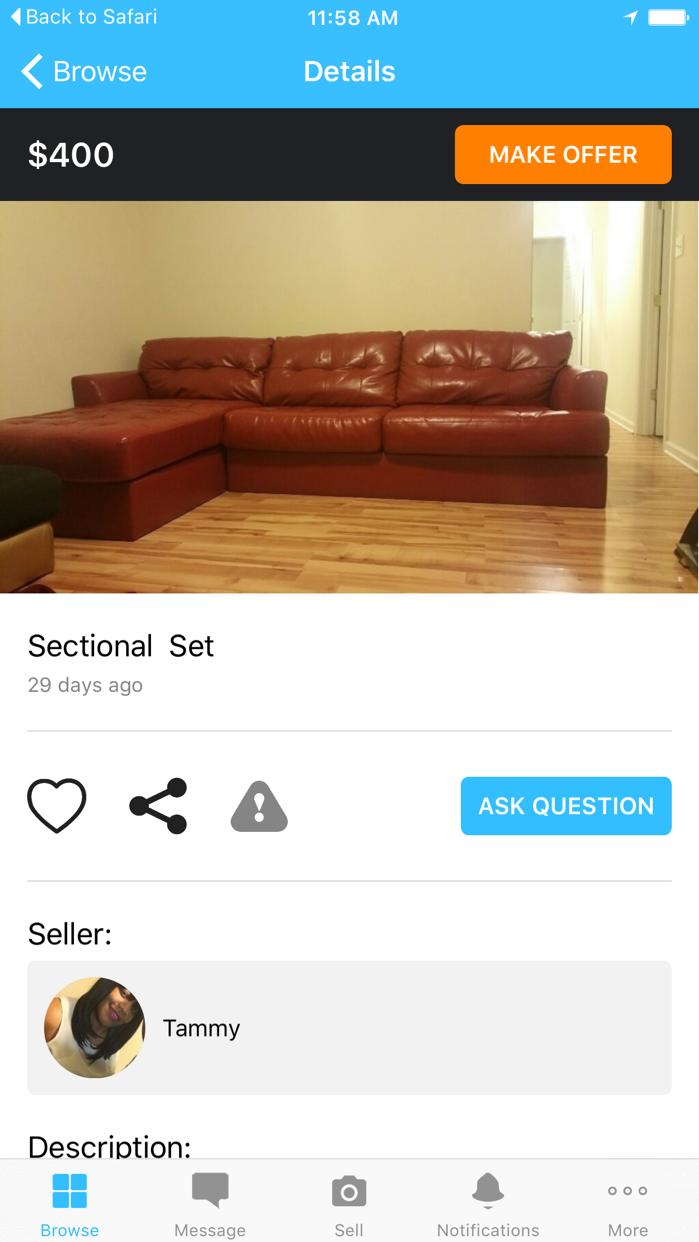 Wish Local - Buy & Sell Screenshot