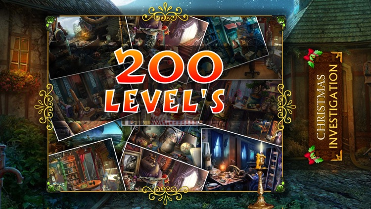Christmas Investigation : Hidden Object games for free