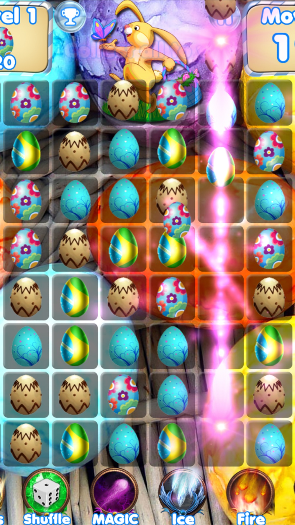 Easter Egg Games – Hunt candy and gummy bunny for kids
