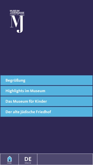 Jüdisches Museum Screenshot