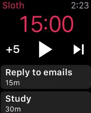 Sloth - Task Manager Screenshot