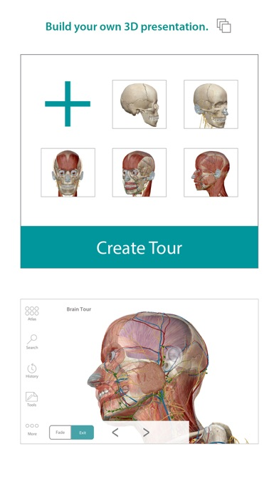 Screenshot for Human Anatomy Atlas – 3D Anatomical Model of the Human Body in Pakistan App Store