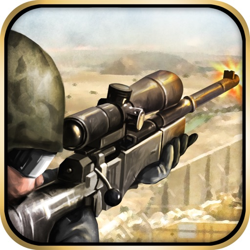 A Battlefield Sniper Assault - War Zone Shooter Hero Games
