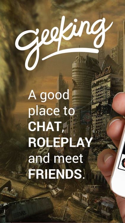 Geeking Chat & Roleplay Anime