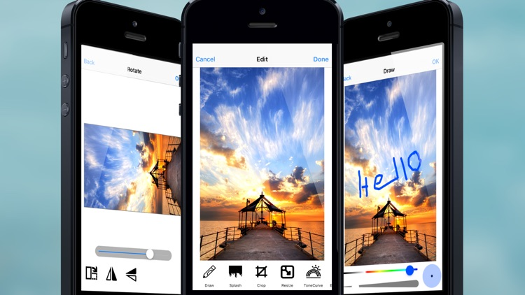 Photo Editor Pro : Change shape, size and color of your image and add sticker, effect to share or save it. screenshot-3