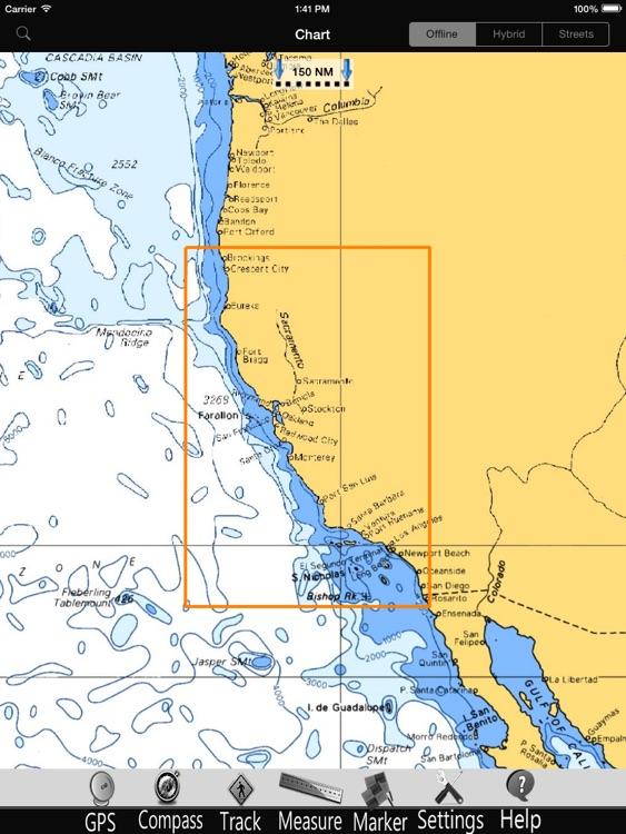 California GPS Charts pro screenshot-3