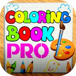 Coloring Book Pro + Draw
