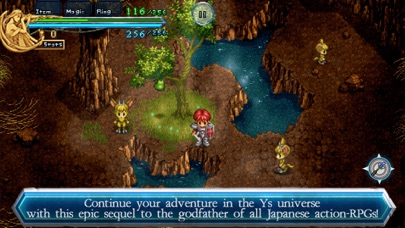 Screenshot from Ys Chronicles II