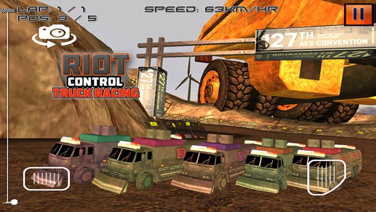 Riot Control Truck Racing screenshot-3