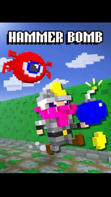 Hammer Bomb - Creepy Dungeon Mazes! screenshot-0